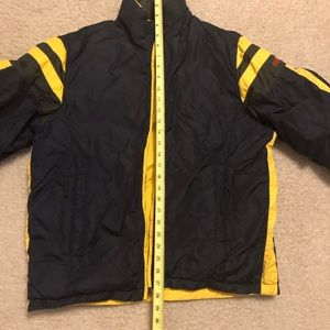 Vintage perry Ellis puffer.  30  0. Men s reversible puffy jacket size M. c2684b57c